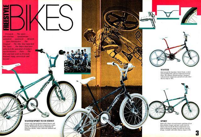 1988 Haro bikes advertisement
