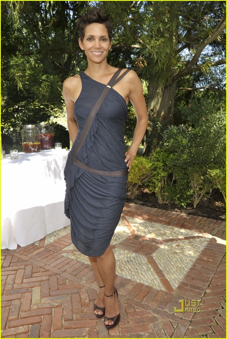 Halle Berry too damn beautiful for words