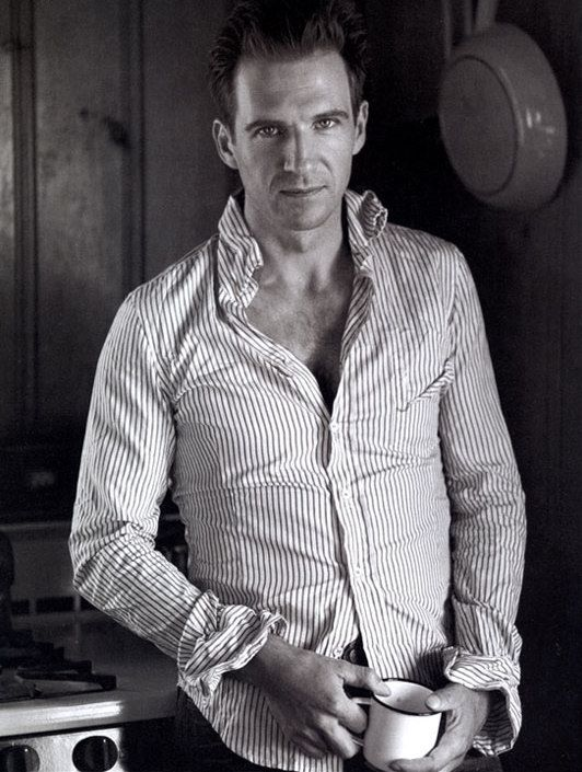 Ralph Fiennes....oh, alright if you insist.