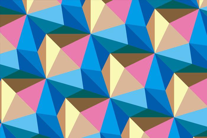 Adidas crystal pattern by Philippe Intraligi