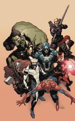 Avengers: Millennium by Mike Costa, Carmine Di Giandomenico.