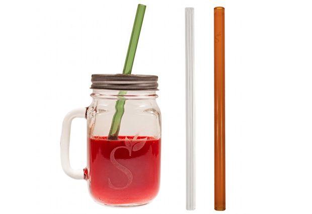 Simply Straws Mason Jar Gift Set $23.50 @ VeganCuts