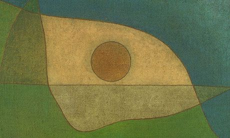 Gaze of Silence, a 1932 work by Klee that took abstraction further. Within months, he had been forced out of the Bauhaus.