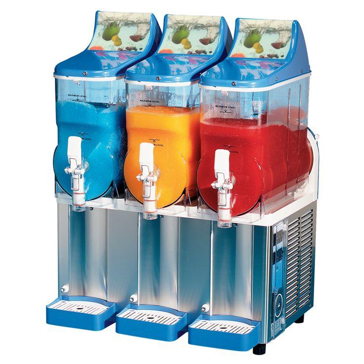 Triple Bowl Margarita Slush Frozen Drink Machine