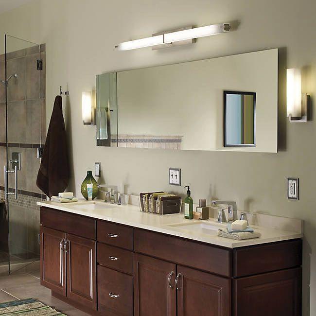 49 best Bathroom Lighting images on Pinterest | Bathroom lighting ...