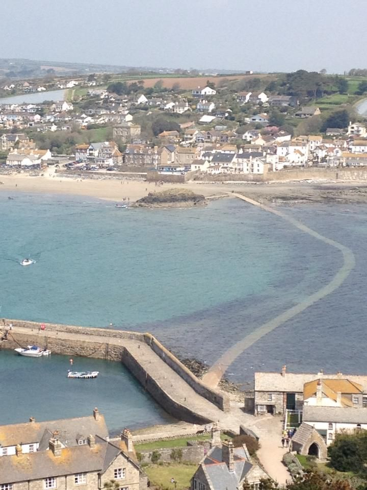 MARAZION (May 2013) | Cornwall: From St Michael's Mount (pic. Kernow King)     ✫ღ⊰n
