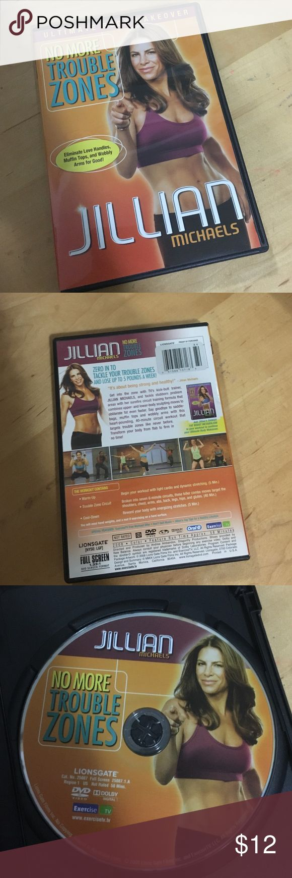 Julian Michaels DVD Fun workout by Jillian Michaels. Gently used a few times. Includes fun circuits and full workout in DVD. Other