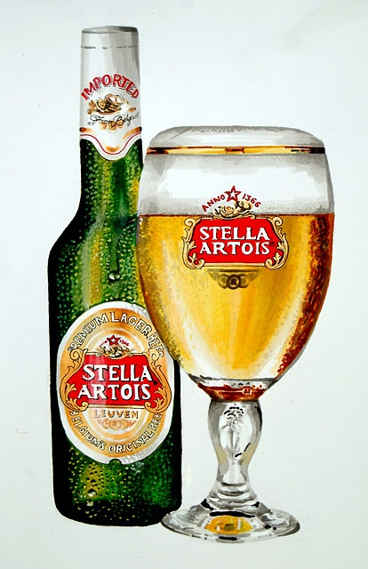 One of my favs - Stella Artois