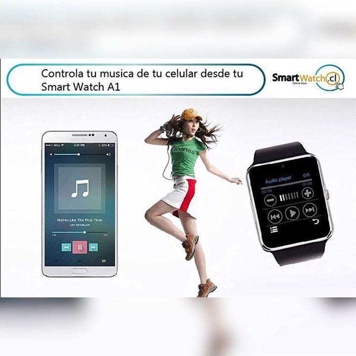 Smart Watch A1 una ves sincronizado con tu smartphone vía Bluetooth puedes controlar la música 🎧🎼de tu celular desde el reloj! 😱 ⌚️ Compatibles con IOS y Android precio $19.990 escríbenos y solicita el tuyo ya!!! Pocas unidades!! WhatsApp +569 59795695 🏙 #yourhashtag
