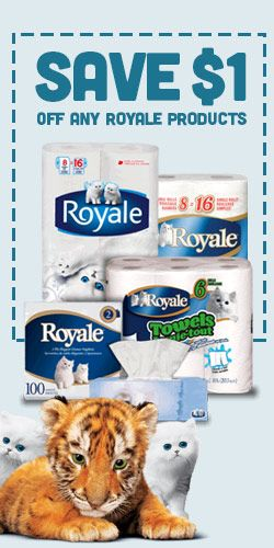 #Save $1 On Any #Royale Product