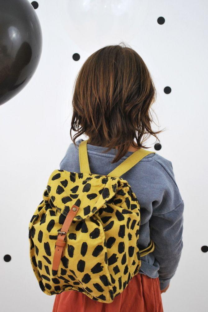 Schoolbag léopard   ♥ bobochoses | Dans un petit village ♥