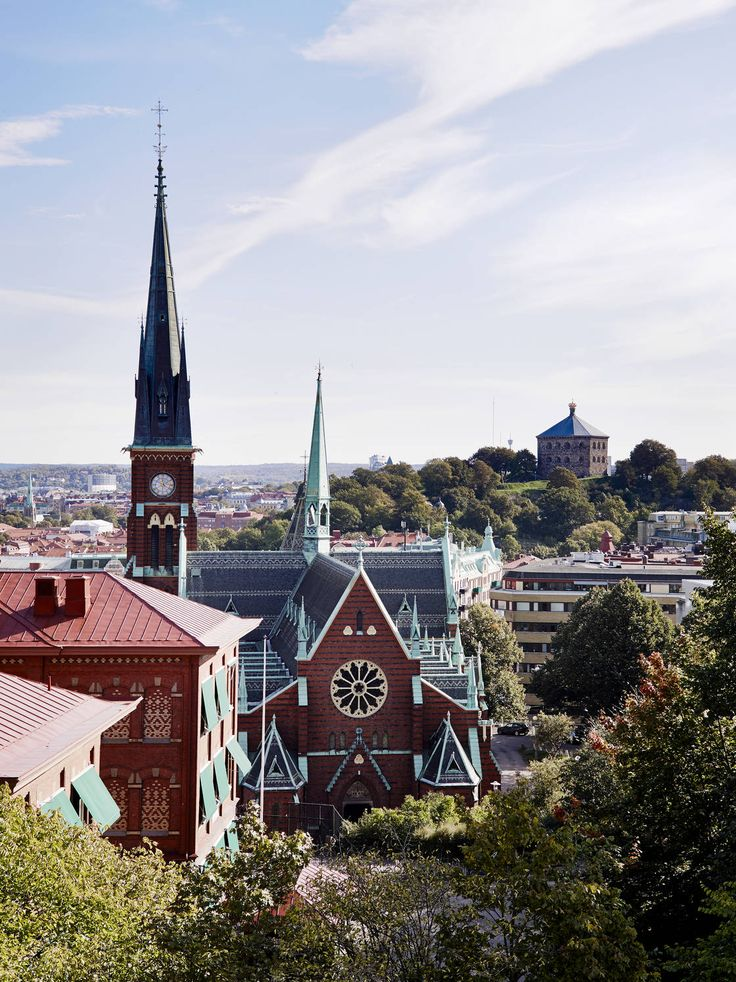 The Oscar Fredrik church in Gothenburg, Sweden.