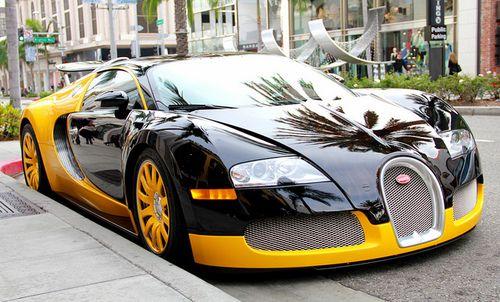 My Pittsburgh Steeler Themed Bugatti Veyron
