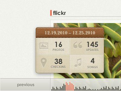 Glossy web app