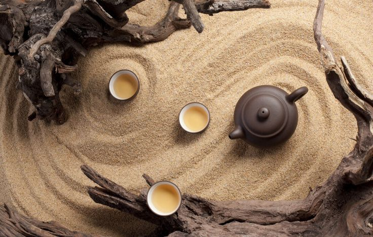 Chinese tea setting