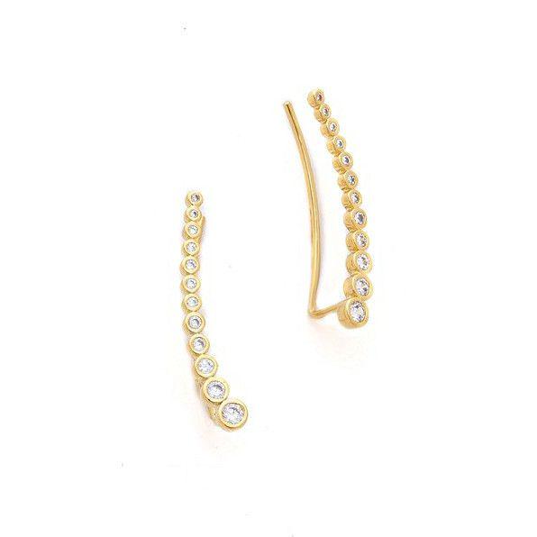 Tai Jewelry Gold Dot Earrings Gold MMf96RU11u