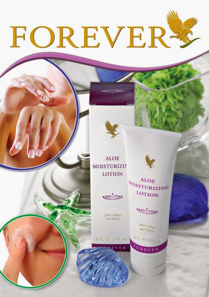 Aloe Moisturizing lotion #glutenfree #foreverlivingTO