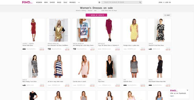 Dresses on sale for women on Findoo.com.au.