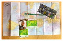 Free InterRail travel pack with map, pass guide, pass cover and wristband