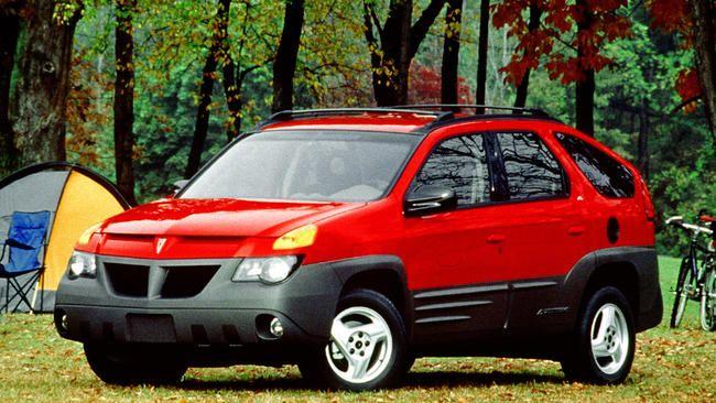 1. 2001 Pontiac Aztek