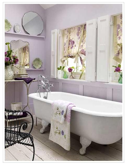I never thought I would love a purple bathroom