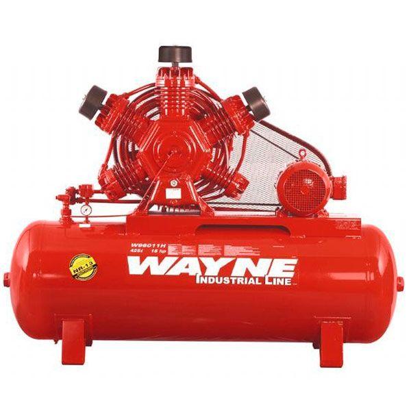 Compressor de Ar Alta Pressão Wayne 425 litros | W96011H Motor Blindado