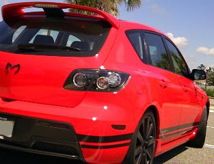 Will Body Stripe Decals for an '07 MazdaSpeed3 fit on a '06 Mazda3 - Mazda3 Forums : The #1 Mazda 3 Forum