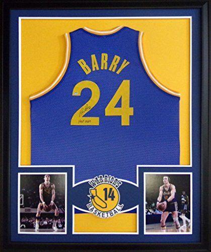 b807ac45e ... NBA jerseys at Rick Barry Framed Jersey Signed Schwartz COA Autographed Golden  State Warriors Mister Mancave http .