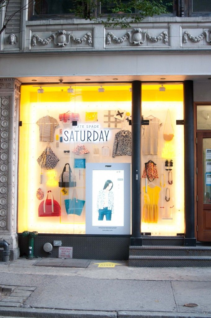 Kate Spade Saturday Popup Touch-Screen Storefront: Thoughts? | Kelly in the City