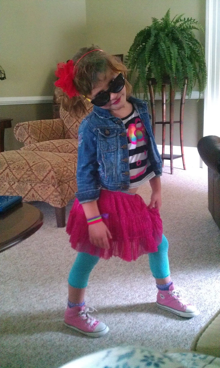 Like, Totally Awesome 80s costume, for sure!!