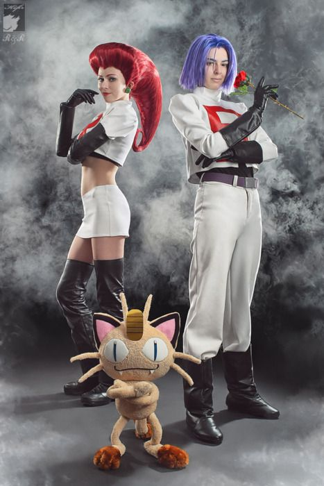 Pokemon: Team Rocket #couples #cosplay