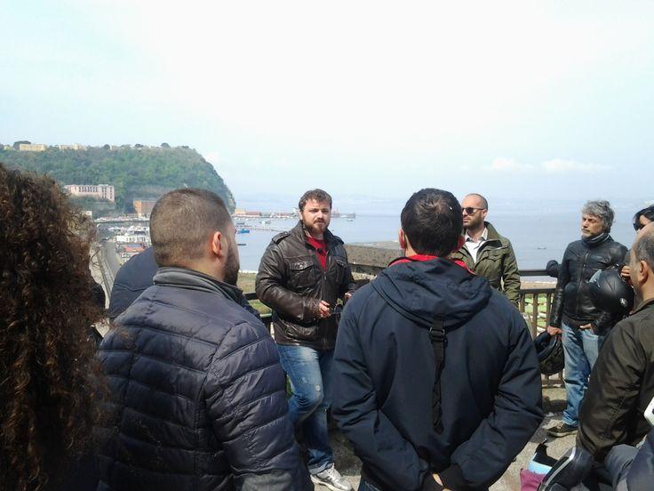 Archeo Moto Tour dei Campi Flegrei con quelli della LANTERNA di MANI E VULCANI