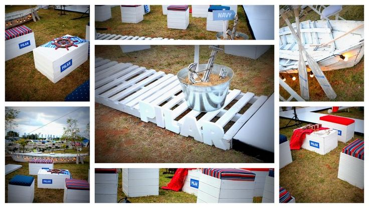 espacio Navy para el picnic del cierre del PAM 2013, diseñado para PILAR