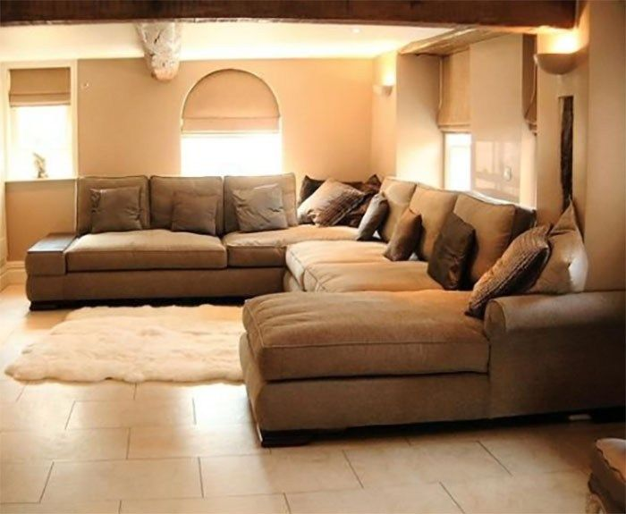 Along With The Couch Elbow Chair 2 Seater Sofa 3 Seater Couch Other Types Of Sofas That Are Now Large Sectional Sofa Extra Large Sectional Sofa Sofa Layout