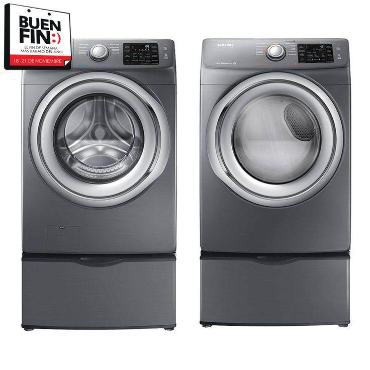 COMPRA de Combo Samsung 18kg lavadora y secadora Silver al mejor precio | Walmart Tienda en Línea