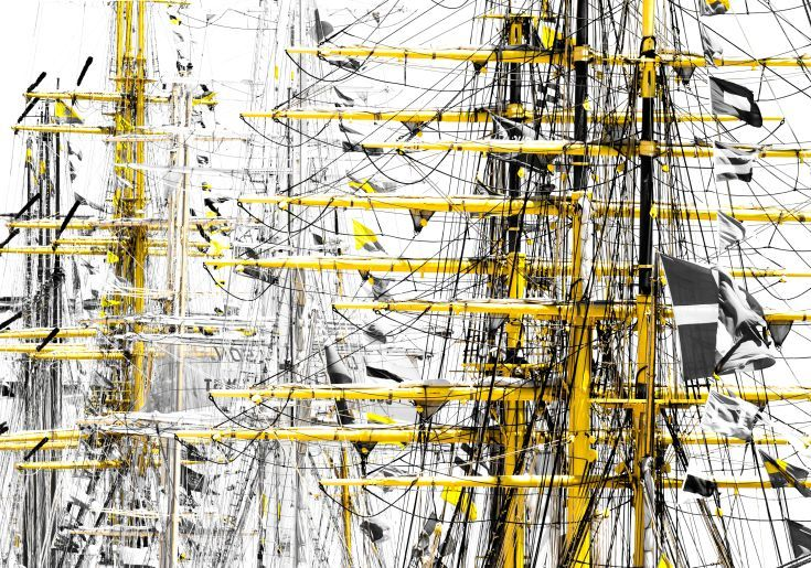 ARTFINDER: Tall Ships II by Victor de Melo - Abstract Graphics Photography. Lisbon hosted the Tall Ships Race event, organized by the Sailing Training International, gathered the most important 60 tall...