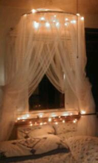 Bed Canopy With Lights 115 best bed canopies images on pinterest | bedroom ideas, bed