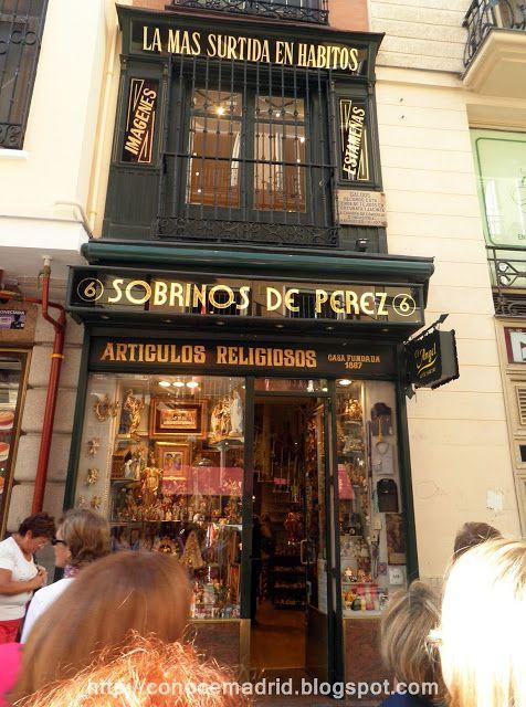 Madrid antiguo. Comercio