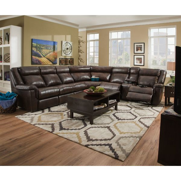 Kennelly Leather Modular Sectional