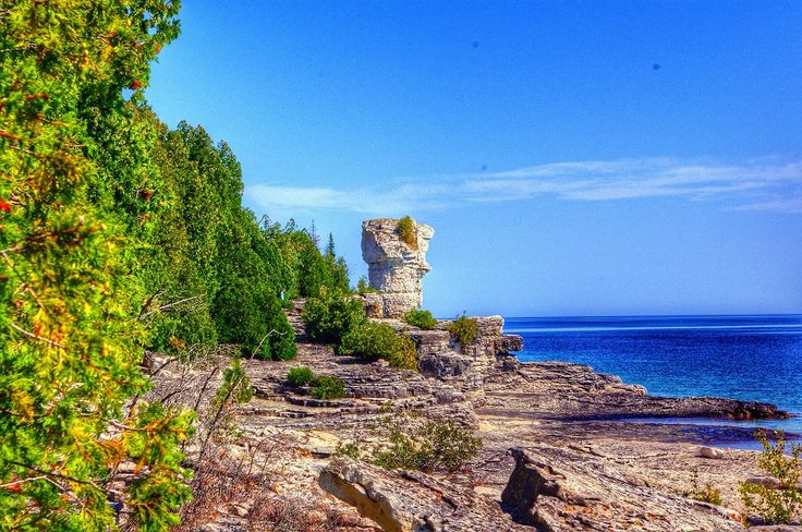 Dare to Go » A Summer's Day on Flowerpot Island