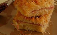 Κανταϊφόπιτα με ζαμπόν και τυριά