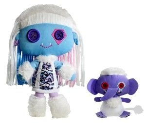 Monster High Abbey Plush Abbey Abominable Doll