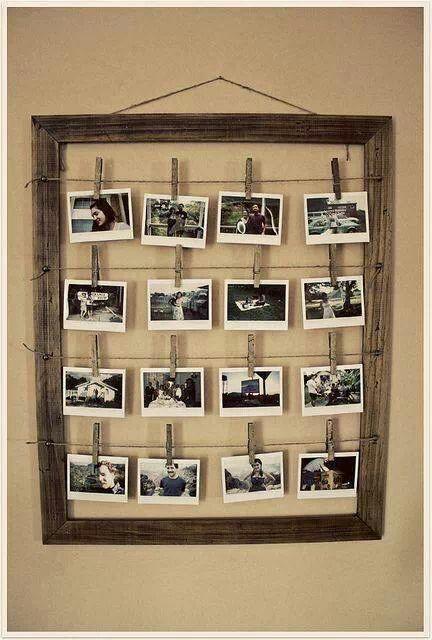 Photo or card display