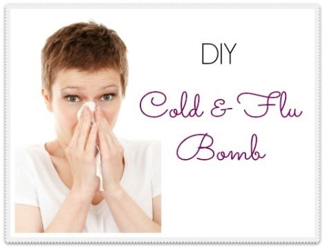 Make your own DIY Cold and Flu Bomb using inexpensive essential oils. It works! |via www.backdoorsurvival.com|