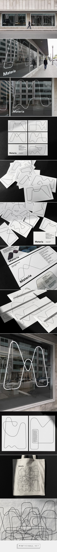 Materia / Branding on Behance - created via https://pinthemall.net