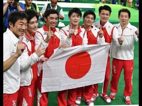 【リオ五輪】日本体操男子団体悲願の金メダル獲得!王国ニッポン復活!感動