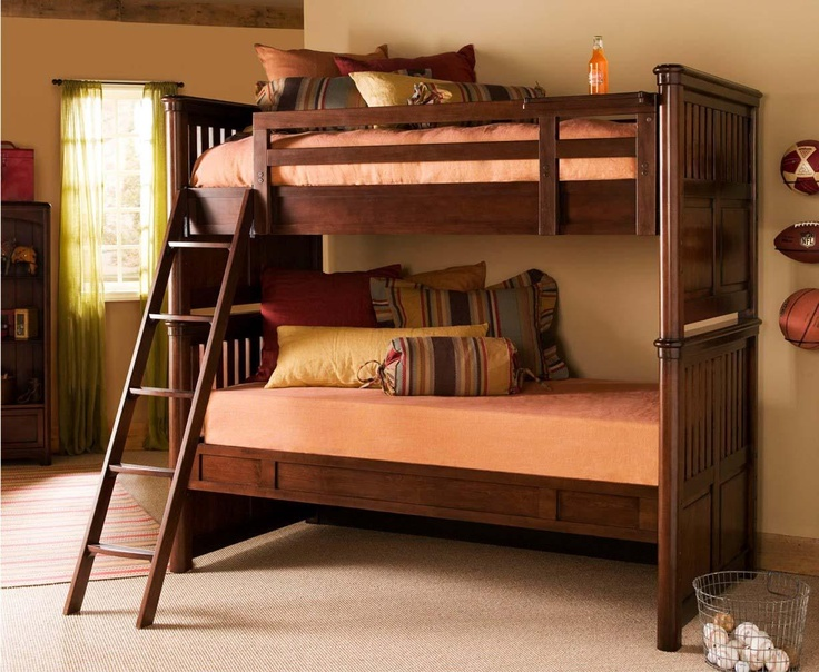 This Bunk Bed Has A Nightstand In The Sky See The Drink