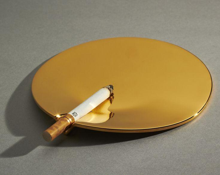joe doucet - 24 carat gold fetish ashtray