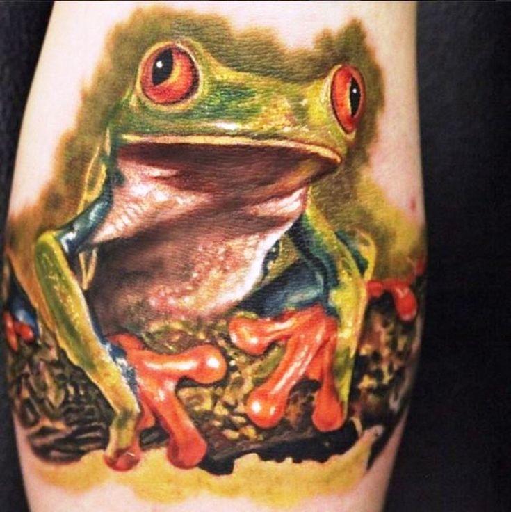 Tree Frog Tattoo Designs