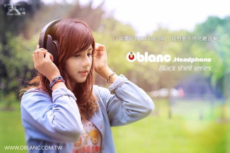 headphone OBLANC
